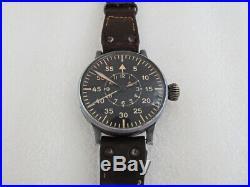 LACO AVIATOR BIG NAVIGATION German Pilots 1939-1945 Vintage Swiss ORIGINAL Watch