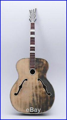 LINDBERG MÜNCHEN Archtop Vintage old German Guitar Alte Gitarre Antique 50er 60s