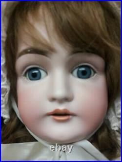 Large Antique German Bisque Kestner Doll