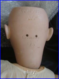 Large Antique German Doll 32 Simon & Halbig 1079, Ball Jointed Composition Body