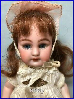 Large Beautiful Antique Simon & Halbig 886 All Bisque Doll 8 IN