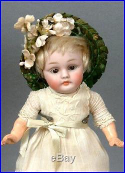 Little Angel Antique Kestner 143 8 Bisque Child Doll in Antique Dress
