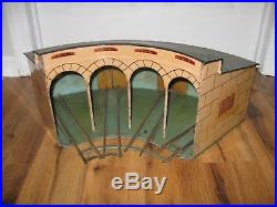 Marklin 0 Gauge Scale Round House German Tin Rare Vintage Antique Train