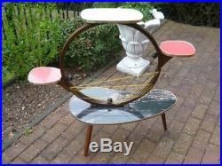 Mid century Scandinavian design vintage multi table modernist Bauhaus German
