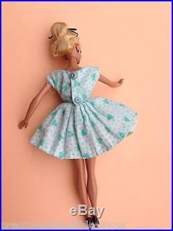 Nm Near Mint Original German Vintage Bild LILLI Hausser Barbie 7.5 Green Dress