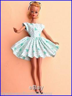 Nm Near Mint Original German Vintage Bild LILLI Hausser Pre Barbie 7.5 G. Dress