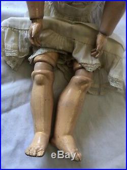 Old Antique German Bisque Heinrich Handwerck Simon Halbig 540 Baby Doll 19