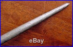 Old German F DICK KNIFE SHARPENER Vintage Antique STEEL with STAG & Fancy Mounts