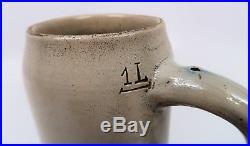 Old WWII vintage antique Nurnberg beer mug ceramic stein WWI Imperial German 1L