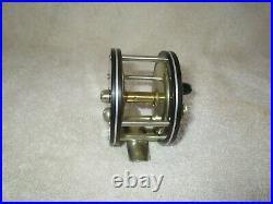 Pflueger Golden West German Silver and Hard Rubber Fly reel-1907 model