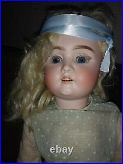 Possessed Antique German Bisque Doll