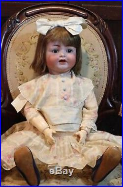 RARE 33 Antique C1910 Kammer Reinhardt Mein Liebling 126 Largest Toddler Doll