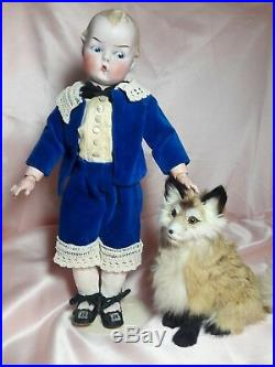 RARE! Antique! Gebruder Heubach Unique! Doll Bisque head, Compo. Body #8556 13