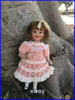 RARE DARLING 5 Antique German All Bisque Doll Vivi By Jeanne Orsini