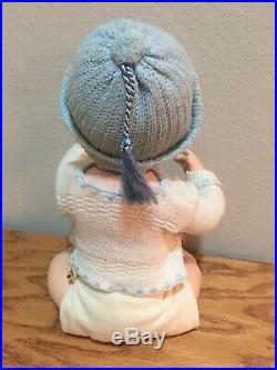 RARE Mold #1267 Antique Franz Schmidt Baby Doll Painted Eyes