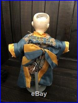 Rare 10 Simon & Halbig Oriental German Antique Doll Bisque Head Character