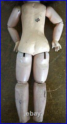 Rare 19th Century 34cm E3D Déposé Etienne Denamur Antique French Doll