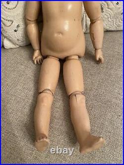 Rare Antique 17 Oriental Asian Schoenau & Hoffmeister German Bisque Doll