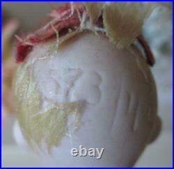 Rare Ernst Heubach 6.5 Mignonette 573/4 Antique Bisque German Doll
