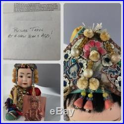 Rare Kestner 243 JDK Oriental German Bisque Head Baby Doll 12-13 Minty