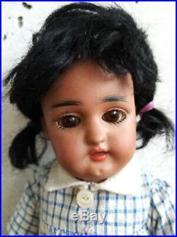 Rare antique black doll Simon Halbig 1078