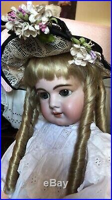 SWEETPEA 28 Antique DEP Jumeau With Simon halbig Head, Chunky French Body