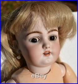 Simon + Halbig 1079 German Bisque Antique Doll 21