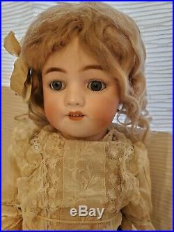 Simon & Halbig Antique German Bisque Doll Gambel Store Stamp