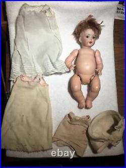 Simon Halbig Twins 9 Antique Bisque Head Dolls Set of 2