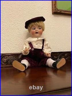 Simon & Halbig for Adolf Hulss Bisque Toddler Boy