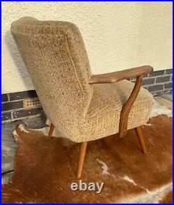 Single MID Century Vintage German Armchair / Chair Great Condition
