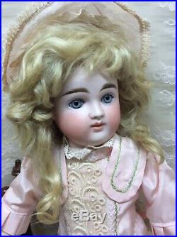 Stunning 17 Antique Pouty Kestner Bisque Doll