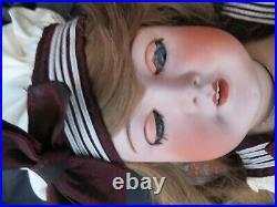 Stunning Antique French Bisque Head Doll Unis / 301 / Tete Jumeau 22 1/2