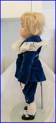 Stunning Antique German Handwerck Simon & Halbig Doll 18 tall