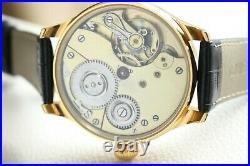 Systeme Glashütte Vintage 1900`s NEW CASED Enameled Men`s German Wrist Watch