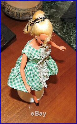 Vintage 1956 German Bild Lilli doll in original dress Barbie Predecessor