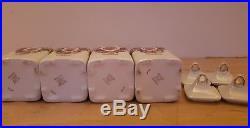 Vintage/ANTIQUE Ceramic GERMAN LUSTREWARE CANISTER Set JB & W 20 Pieces