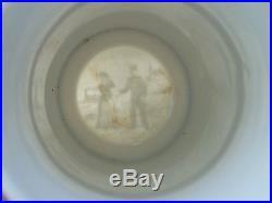Vintage Antique GERMAN MILITARY REGIMENTAL BEER STEIN Lithophane Beer Mug WWI