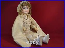 Vintage Antique German Hamberger Viola 24 Bisque Doll Composition Body