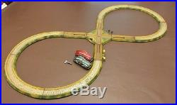 Vintage Antique Rallye Circuit Track DRP German Tinplate With Cars Working