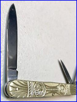 Vintage Antique WW2 German Soldier Military Pocket Folding Dagger Knife