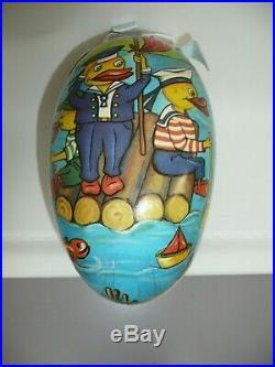 Vintage Artist Baby Doll & Accessories in German Easter Egg by Rosemarie Snyder