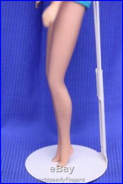Vintage Barbie German Bend Leg American Girl Platinum Streaked Hair