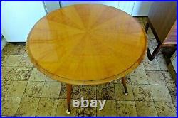 Vintage German 1950s Mid Century Modernist Wood Table Display Prop Storage
