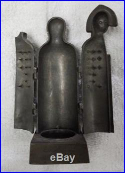 187 Vintage German Antique Iron Maiden Figure Torture Device