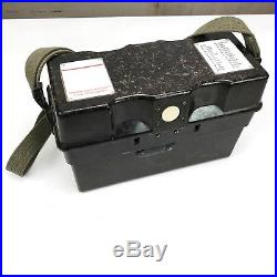 Vintage German Field Phone Army Telephone Military Antique post WWII