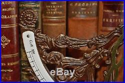Vintage German Ornate Postal Scale Brass and Enamel