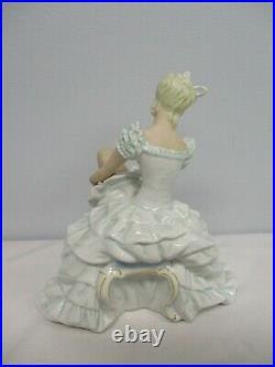Vintage German Schaubach Kunst 8 3/4 Ballerina Dancer Figurine 1381/1