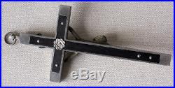 Vintage German WW2 Antique Chaplains Battle Field Cross/Crucifix Military Rare