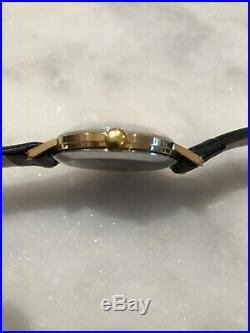 Vintage Gold-plated German Mech. Glashutte 17 Jewels Original